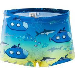 Kąpielówki chłopięce: AQUAWAVE Kąpielówki juniorskie  Submarine Kids Tile Blue Gradient/ Submarine Print r. 104
