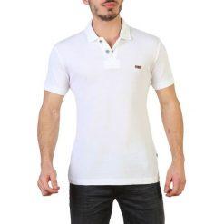 Napapijri Koszulka Polo Męska Xl Biała. Szare koszulki polo marki Napapijri, l, z materiału, z kapturem. Za 349,00 zł.