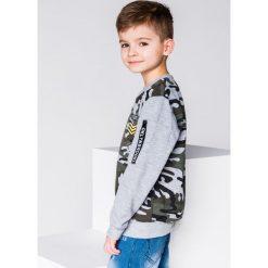 Bluzy chłopięce rozpinane: BLUZA DZIECIĘCA BEZ KAPTURA KB010 - SZARA