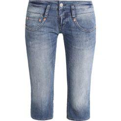 Herrlicher Szorty jeansowe blue denim. Niebieskie bermudy damskie Herrlicher, z bawełny. Za 379,00 zł.