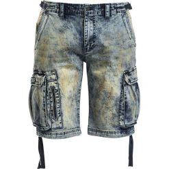 Spodenki i szorty męskie: Black Premium by EMP Army Vintage Shorts Krótkie spodenki niebieski
