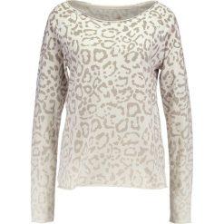 Bluzy rozpinane damskie: Juvia ANIMAL PRINT FADED SWEAT Bluza khaki