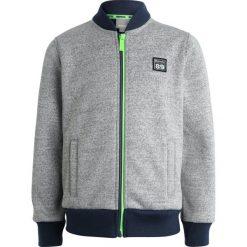 Bench BONDED BASEBALL  Bluza rozpinana grey marl. Szare bluzy chłopięce rozpinane marki Bench, z bawełny, z kapturem. Za 209,00 zł.