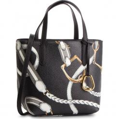 Torebka LAUREN RALPH LAUREN - 431730284004  Medium Black. Czarne torebki klasyczne damskie Lauren Ralph Lauren, ze skóry ekologicznej. Za 689,00 zł.