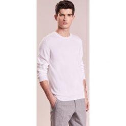 Johnstons Cashmere CNECK Sweter offwhite. Białe swetry klasyczne męskie Johnstons Cashmere, m, z bawełny. W wyprzedaży za 526,05 zł.