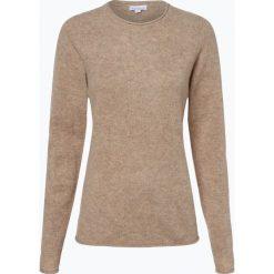 Brookshire - Sweter damski, beżowy. Czarne swetry klasyczne damskie marki brookshire, m, w paski, z dżerseju. Za 179,95 zł.