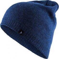 Czapka męska CAM600 - niebieski melanż - Outhorn. Niebieskie czapki zimowe męskie Outhorn, na jesień, melanż. Za 19,99 zł.
