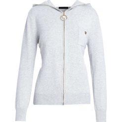 Szary Kardigan It's Your Choice. Szare swetry klasyczne damskie marki Reserved, m, z kapturem. Za 74,99 zł.