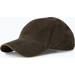 Czapki z daszkiem męskie: Marc O'Polo - Męska czapka z daszkiem, zielony
