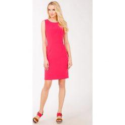 Sukienki: Prosta sukienka bez rękawów