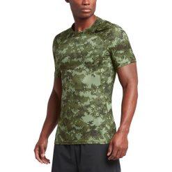 Nike Koszulka Men's Pro Hypercool Top zielona r. XL (828180 387). Zielone t-shirty męskie marki QUECHUA, m, z elastanu. Za 139,77 zł.