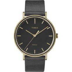 Timex - Zegarek TW2R26000. Czarne zegarki męskie marki Fossil, szklane. Za 349,90 zł.