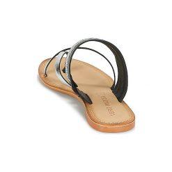 Sandały Vero Moda  TIMO LEATHER SANDAL. Czarne sandały damskie marki Vero Moda. Za 119,20 zł.