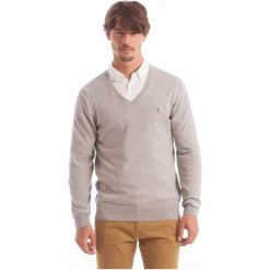 Polo Club C.H..A Sweter Męski Xxl Szary. Szare swetry klasyczne męskie marki Polo Club C.H..A, m, polo. W wyprzedaży za 209,00 zł.