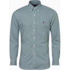 Polo Ralph Lauren - Koszula męska, zielony. Szare koszule męskie na spinki marki Polo Ralph Lauren, l, z bawełny, button down, z długim rękawem. Za 349,95 zł.