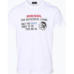 Diesel - T-shirt męski, czarny. Niebieskie t-shirty męskie marki Diesel. Za 149,95 zł.
