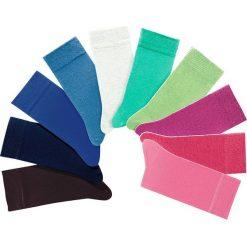 Skarpetki H.I.S (10 par) bonprix kolorowy. Szare skarpetki męskie bonprix, w kolorowe wzory. Za 49,90 zł.