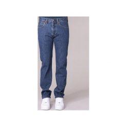 Jeansy straight leg Levis  501 LEVIS ORIGINAL FIT. Niebieskie jeansy męskie relaxed fit marki Levi's®. Za 389,00 zł.