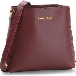 Torebka JENNY FAIRY - RH1082 Burgundy. Czerwone listonoszki damskie Jenny Fairy, ze skóry ekologicznej, na ramię. Za 69,99 zł.