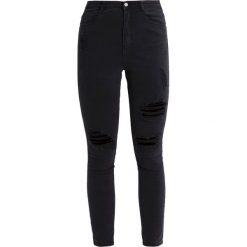 Missguided SINNER  Jeans Skinny Fit black. Czarne jeansy damskie Missguided. Za 149,00 zł.
