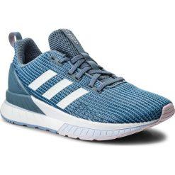 Buty adidas - Questar Tnd W DB1298  Rawgre/Ftwwht/Aerblu. Niebieskie buty do biegania damskie marki Salomon, z gore-texu, na sznurówki, gore-tex. W wyprzedaży za 269,00 zł.