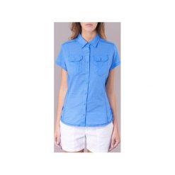 Koszule Columbia  CAMP HENRY SOLID SHORT SLEEVE SHIRT. Niebieskie koszule wiązane damskie Columbia, l. Za 153,30 zł.
