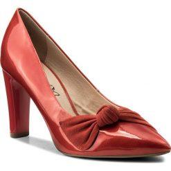 Półbuty CAPRICE - 9-22403-20 Red Comb 523. Czarne półbuty damskie skórzane marki Caprice. W wyprzedaży za 189,00 zł.