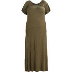 Długie sukienki: Evans GYPSY DRESS Długa sukienka khaki