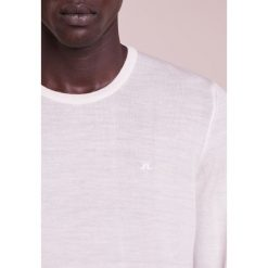 Swetry klasyczne męskie: J.LINDEBERG PERFECT MERINO Sweter whisper white