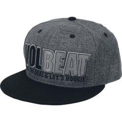 Czapki męskie: Volbeat Seal The Deal & Let's Boogie Czapka Snapback czarny/szary