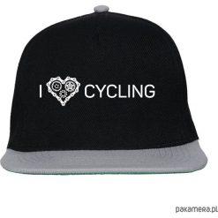 Czapka FullCap. I love cycling. Czarne czapki z daszkiem damskie Pakamera. Za 69,00 zł.
