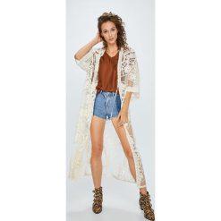 Answear - Szorty Boho Bandit. Szare szorty jeansowe damskie ANSWEAR, boho, z podwyższonym stanem. W wyprzedaży za 59,90 zł.