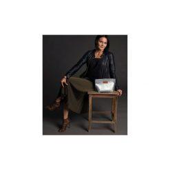 Mała torebka Mili Glam Bag - szara. Brązowe torebki klasyczne damskie Mili-tu, w paski, małe. Za 135,20 zł.