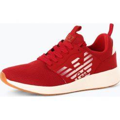 EA7 Emporio Armani - Tenisówki męskie, czerwony. Czerwone tenisówki męskie marki EA7 Emporio Armani. Za 499,95 zł.