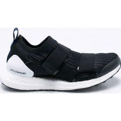 Adidas by Stella McCartney - Buty Ultraboost X. Szare buty sportowe damskie adidas by Stella McCartney, z materiału. W wyprzedaży za 769,90 zł.