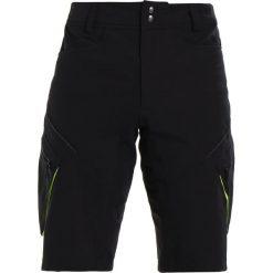 Gore Wear TRAIL SHORTS Krótkie spodenki sportowe black. Czarne bermudy męskie Gore Wear, z elastanu, sportowe. Za 379,00 zł.