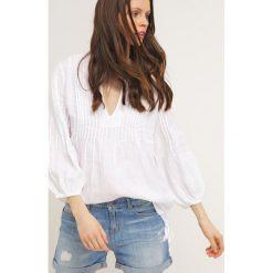 Bluzki asymetryczne: 120% Lino Bluzka white