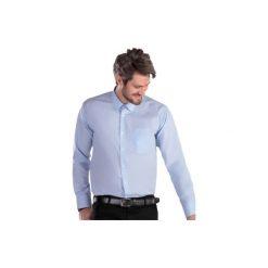 Koszula męska Z KOŁNIERZEM wizytowa, Z KIESZONKĄ. Szare koszule męskie marki House, l, z bawełny. Za 19,99 zł.