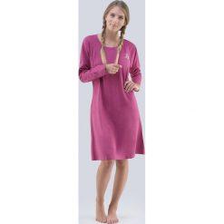 Koszula nocna Theresa. Fioletowe koszule nocne i halki marki FOUGANZA, z bawełny. Za 77,99 zł.