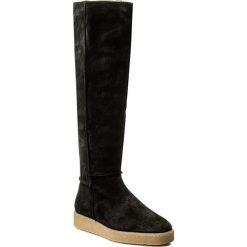 Kozaki MARC O'POLO - 709 14298001 304 Black 990. Czarne buty zimowe damskie Marc O'Polo, ze skóry. W wyprzedaży za 559,00 zł.