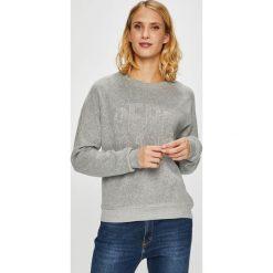 Pepe Jeans - Bluza Cameron. Szare bluzy z nadrukiem damskie Pepe Jeans, l, z bawełny, bez kaptura. Za 279,90 zł.