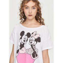 Piżamy damskie: Piżama z nadrukiem disney – Różowy