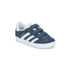 Buty Dziecko adidas  GAZELLE CF I. Niebieskie trampki chłopięce Adidas. Za 219,00 zł.