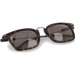 Okulary przeciwsłoneczne BOSS - 0325/S Dark Havana 086. Brązowe okulary przeciwsłoneczne damskie lenonki marki Boss, z tworzywa sztucznego. W wyprzedaży za 439,00 zł.
