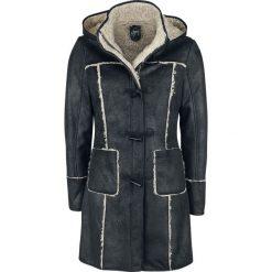 Płaszcze męskie: Gipsy Leesa ASW Płaszcz z ekoskóry damski czarny