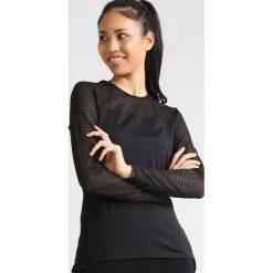 Röhnisch MIKO Bluzka z długim rękawem black. Czarne bluzki damskie Röhnisch, xs, z elastanu, z długim rękawem. Za 169,00 zł.