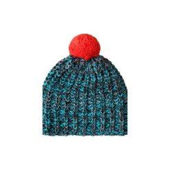 Czapka hauer PECTO. Czarne czapki zimowe damskie marki Hauer, z nadrukiem, z polaru. Za 69,00 zł.