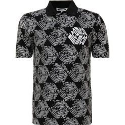 McQ Alexander McQueen CLEAN Koszulka polo darkest black. Czarne koszulki polo McQ Alexander McQueen, m, z bawełny. Za 669,00 zł.