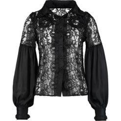 Koszule wiązane damskie: Navy London MILENA Koszula black
