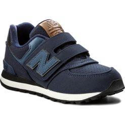 Trampki chłopięce: Sneakersy NEW BALANCE – KV574YTY Granatowy